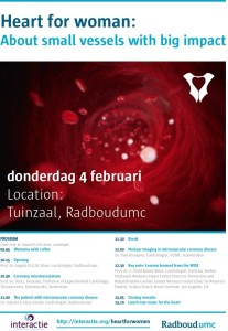 symposium Heart for woman